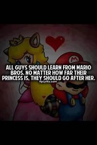 Mario Love Quot... Mario Love Quotes