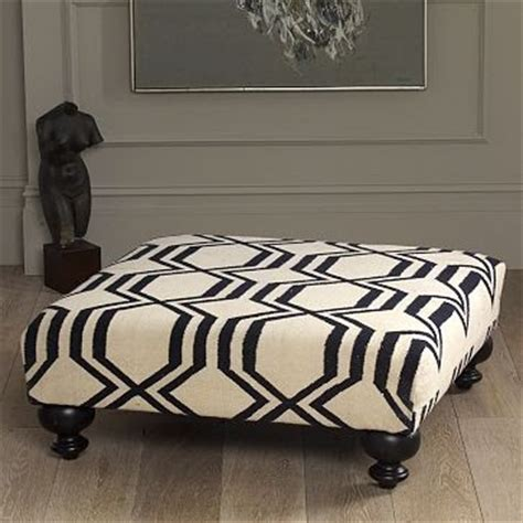 ottoman west elm tulip and turnip diy upholstered ottoman coffee table