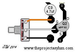 Guitar Wiring Diagram Stereo by Instrument Input Volume Wiring Diagram Guitar