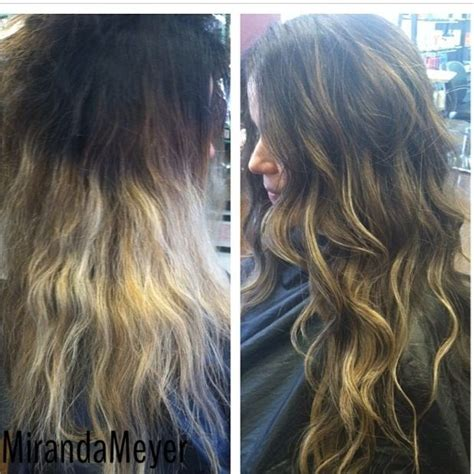 Bad Ombre To Good Ombre Before And After Hairstyles