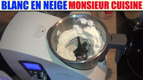 lidl recettes de cuisine blanc en neige recette monsieur cuisine silvercrest lidl