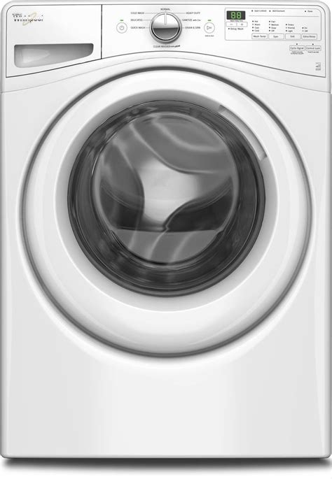 Whirlpool WFW75HEFW Front Load Washer & WED75HEFW Electric
