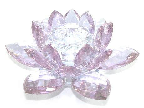 Crystal Feng Shui Lotus Flower (light Purple)  Fengsui Ebay