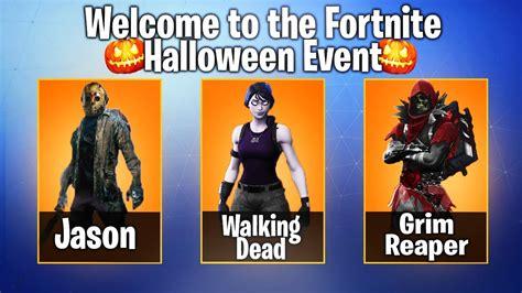 fortnite halloween skins leaked halloween