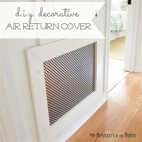 hometalk     decorative air return vent cover