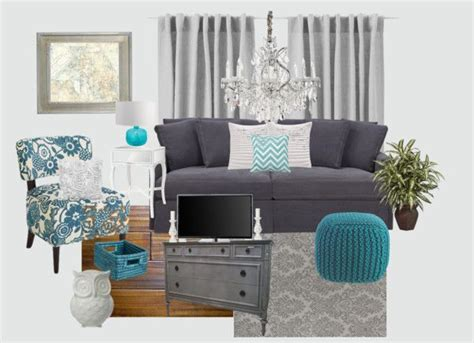 Living Room Ideas Grey And Teal gray and teal living room decoration home living