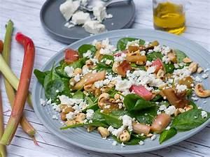 Salat Mit Spinat : spinat salat mit rhabarber und feta rezept eat smarter ~ Orissabook.com Haus und Dekorationen