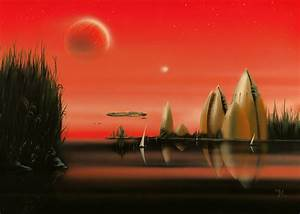 space art filmed and video - journeys into paintings of ...