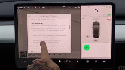 View Tesla 3 Voice Control Pics