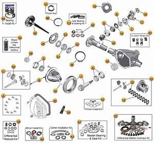 Dana 44 Rear Axle Parts For Grand Cherokee Wj