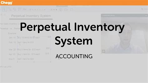 perpetual inventory system accounting chegg tutors