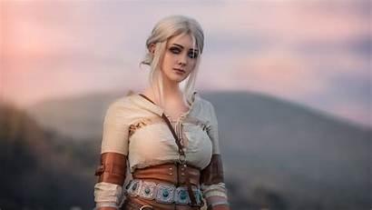 Witcher Ciri Cosplay 4k Hair Medieval Cirilla