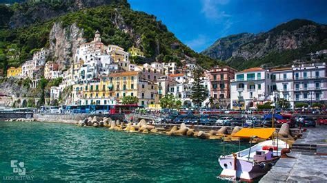 Amalfi Coast And Pompeii Leisure Italy