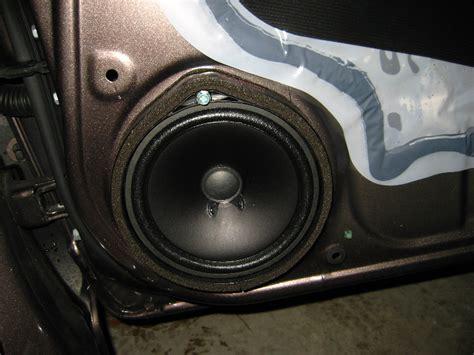 honda civic front door speaker replacement guide