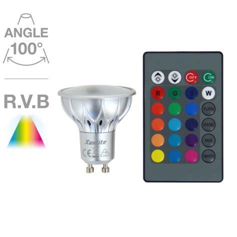 ampoule couleur spot ampoule led