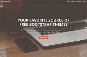 20 amazing free bootstrap 4 templates uideck With html welcome page template