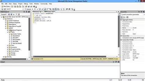 sql query to create table how to create and drop table in sql youtube