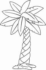 Coloring Pages Palm Tree Westgatebarandgrill sketch template