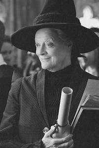 "Maggie Smith as Professor Minerva McGonagall, the ""Harry ..."