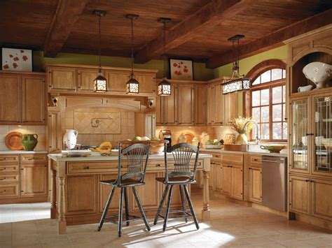 Thomasville Kitchen Cabinets At Home Depot by Blakely Maple Palomino Kitchen By Thomasville Cabinetry
