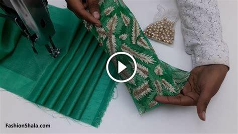 stylish neck design cutting  stitching kurti blouse