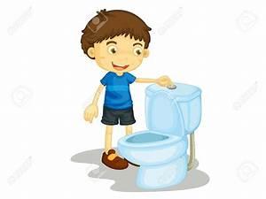 Toilet clipart for kids