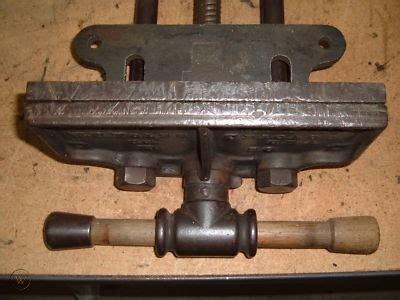 vintage wc toles  rapid action woodworking vise