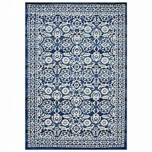 Nuloom rzbd05a bodrum dark blue turnbull area rug atg stores for Blue carpets designs