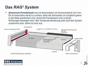 Alu Fensterbank Einbauen : rbb aluminium ~ Frokenaadalensverden.com Haus und Dekorationen