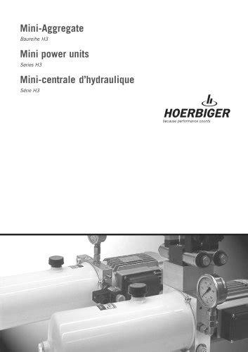 Directional control valves - HOERBIGER