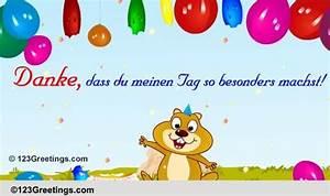 Keep In Touch Deutsch : danke f r den speziellen tag free danke ecards greeting cards 123 greetings ~ Buech-reservation.com Haus und Dekorationen