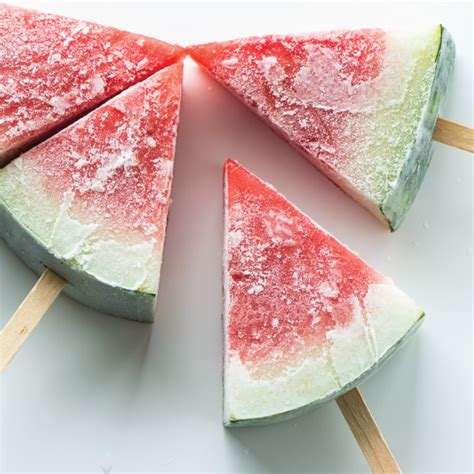 Recipe Frozen Watermelon Popsicles