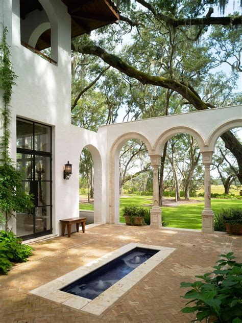 style courtyards 10 spanish inspired outdoor spaces hgtv