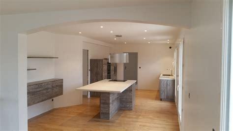 photo de cuisine ouverte sur sejour cuisine ouverte sur sejour baneins lyon bourg en bresse