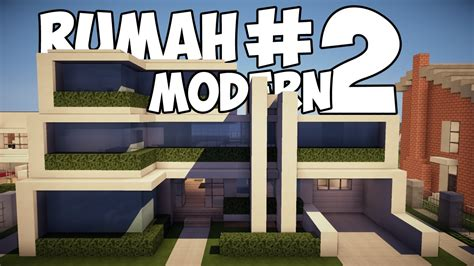 Rumah Modern #2  Review  Minecraft Indonesia Youtube