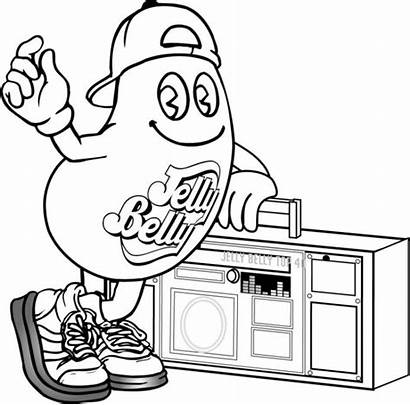 Coloring Pages Jelly Belly Cool Stuff Bean