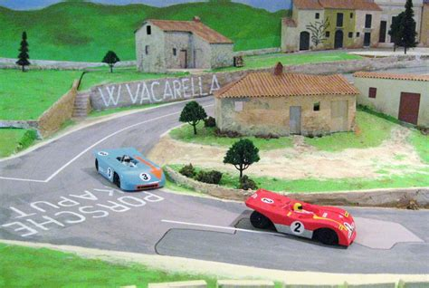 file a magracing ferrari and porsche race out of the
