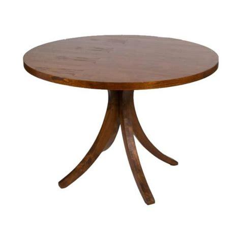 table ronde 90 cm pied central table ronde pied central en bois fonc 233 120x78cm achat vente table 224 manger seule table ronde