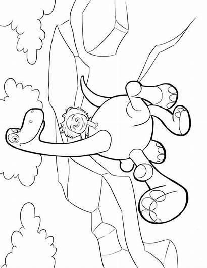Dinosaur Arlo Coloring Pages Fun Coloringpages