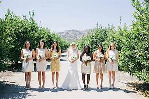 35 Ideas For Mix And Match Bridesmaid Dresses
