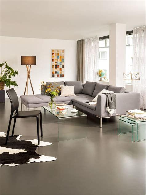 Sofa Micasa by Micasa Wohnzimmer Mit Ecksofa Bader Und Salontisch