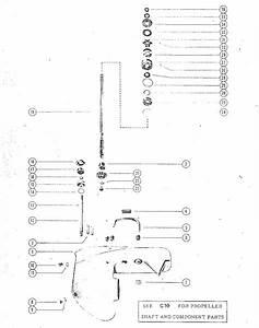 Mercury Mark  U0026 Kiekhaefer Mark 55ae  55am  58ae  58e Gear