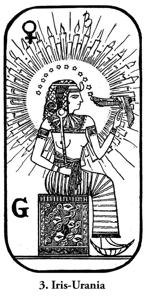 rosicrucian egyptian tarot Isis-Urania   Tarot Cards