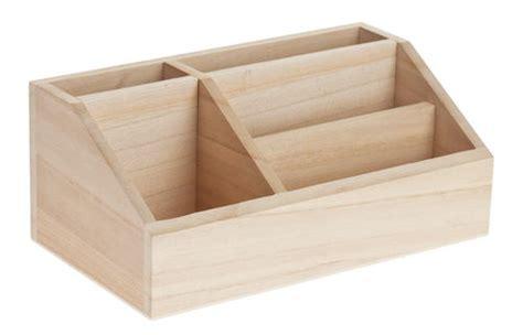 organiseur de bureau en bois avec 5 c opitec