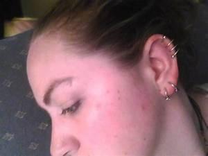 Triple Helix Piercing With Spiral Hoop