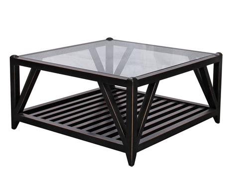 Couchtisch Quadratisch Schwarz by 30 Photos Square Black Coffee Tables