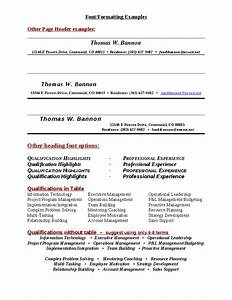 Sample Resume Headings  Hashdoc