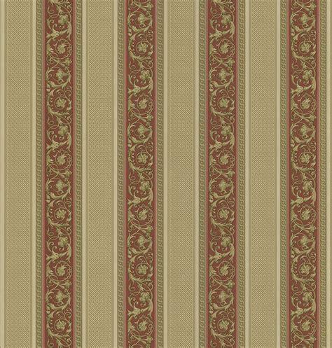 Brewster 430 7029 Vintage Legacy III Floral Stripe