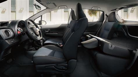 hatchback cars interior toyota yaris 2013 cartype