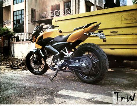 Modifikasi Pulsar 200ns by Modifikasi Bajaj Pulsar 200ns Kaki Kaki Ktm Duke 200 India
